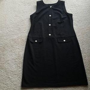 EUC Talbots black dress
